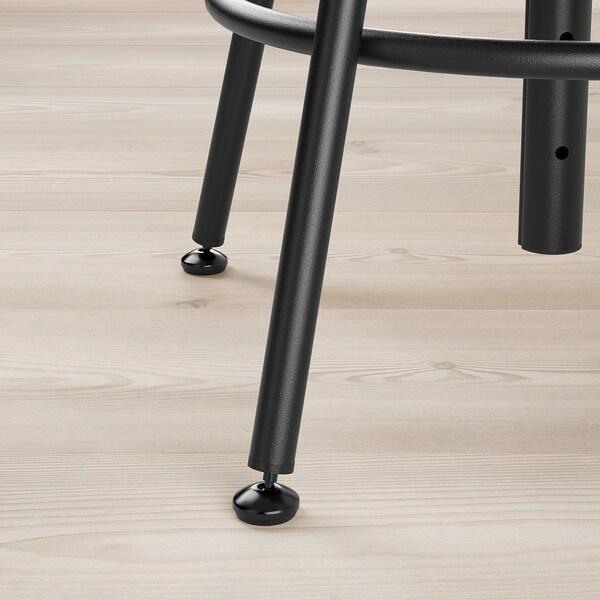 KULLABERG Stool, pine/black