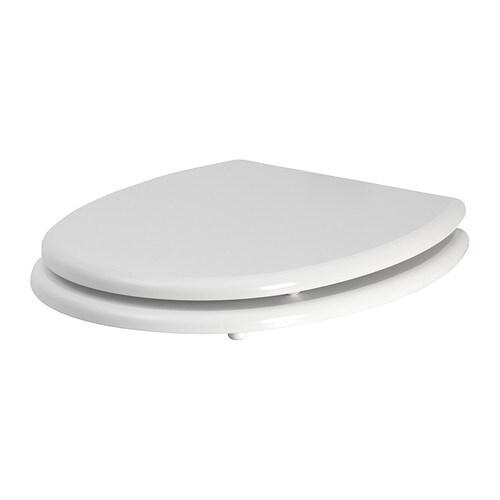 KULLARNA Toilet seat White  IK -> Peindre Commode Ikea