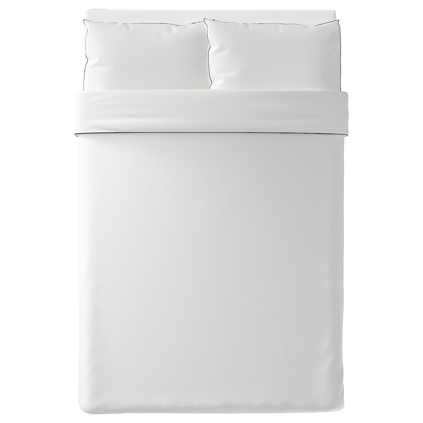 IKEA KUNGSBLOMMA quilt cover and 2 pillowcases
