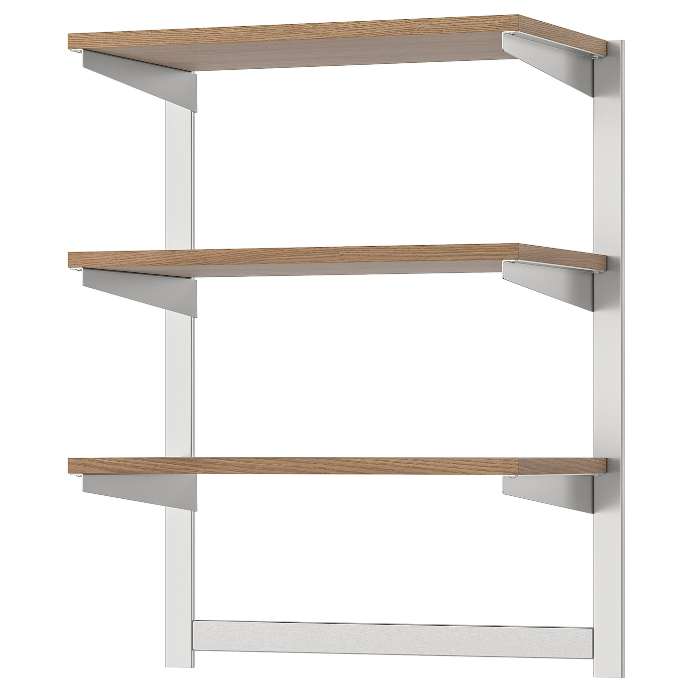 IKEA KUNGSFORS susp rail w shelf/mgnt knife rack Gives you extra storage in your kitchen.