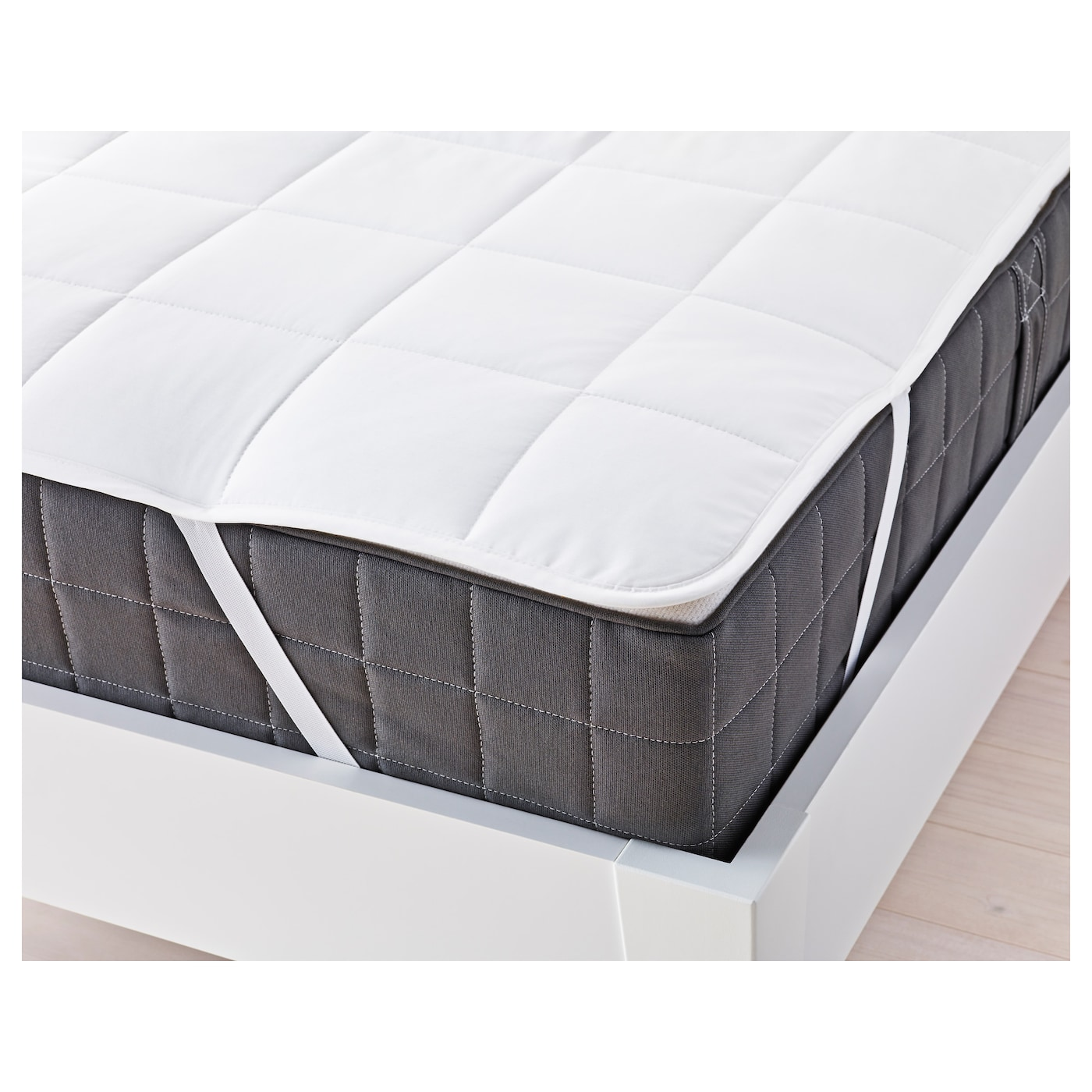 morgedal foam mattress firm dark grey standard double ikea. Black Bedroom Furniture Sets. Home Design Ideas