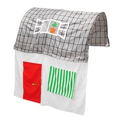 Ikea Kura Bed Tent With Curtain Fits The Both In A Low And High