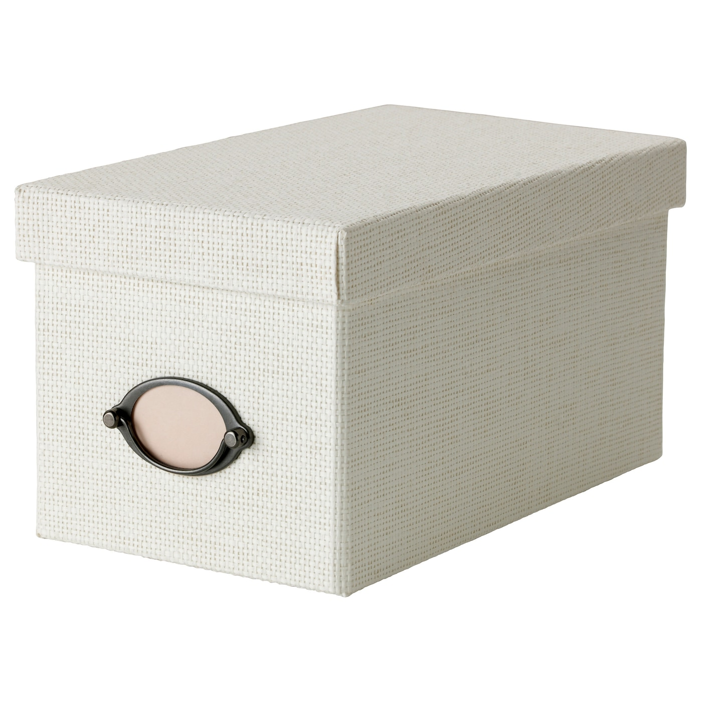 kvarnvik box with lid white 16x29x15 cm ikea. Black Bedroom Furniture Sets. Home Design Ideas