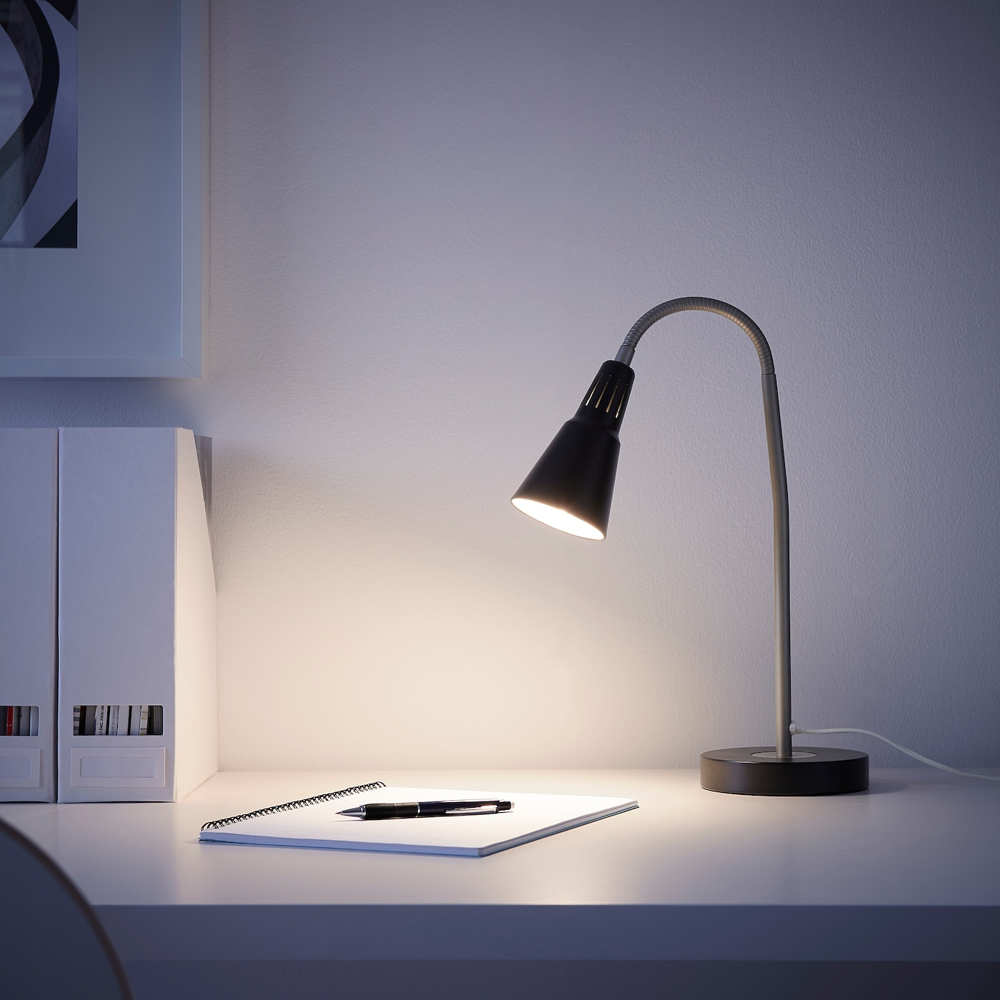 Kvart Black Work Lamp Ikea