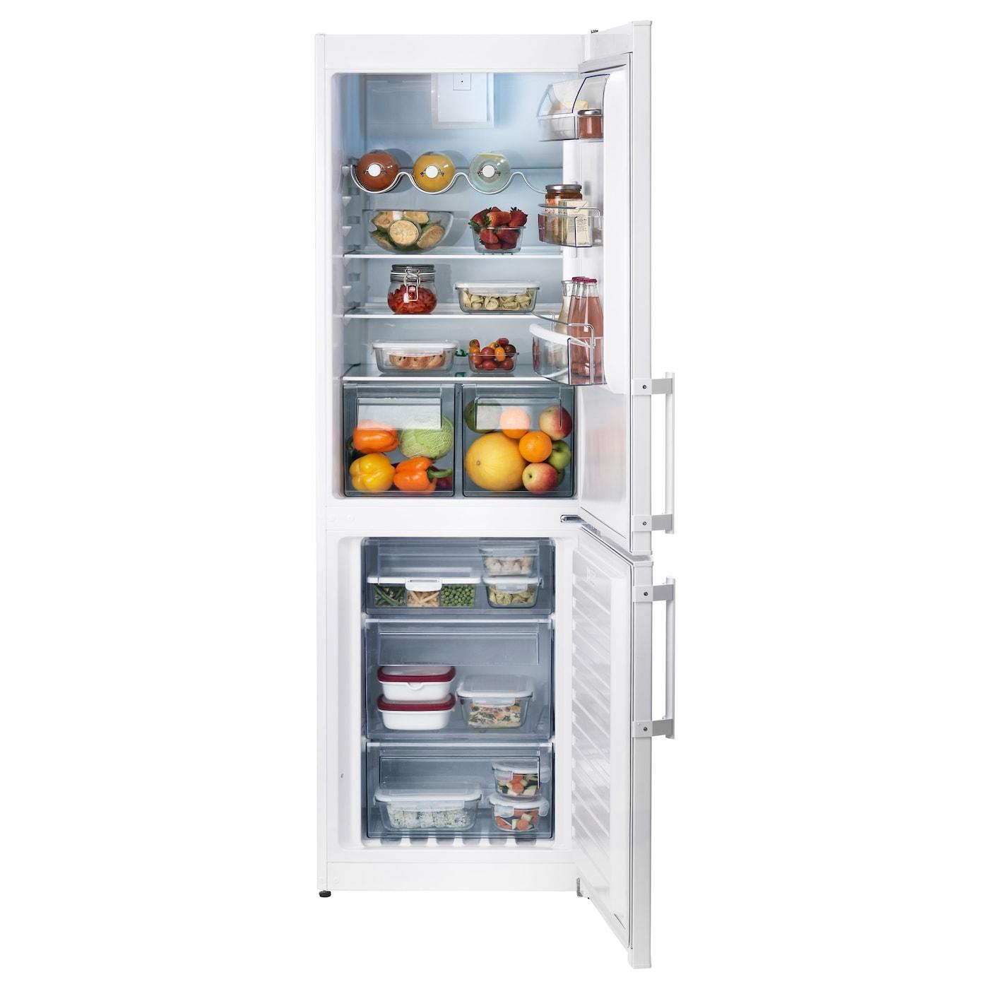 kyld fridge freezer a no frost white 220 91 l ikea. Black Bedroom Furniture Sets. Home Design Ideas