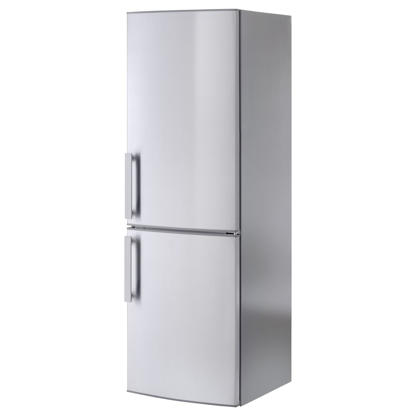 kylig fridge freezer a no frost stainless steel 220 91 l. Black Bedroom Furniture Sets. Home Design Ideas