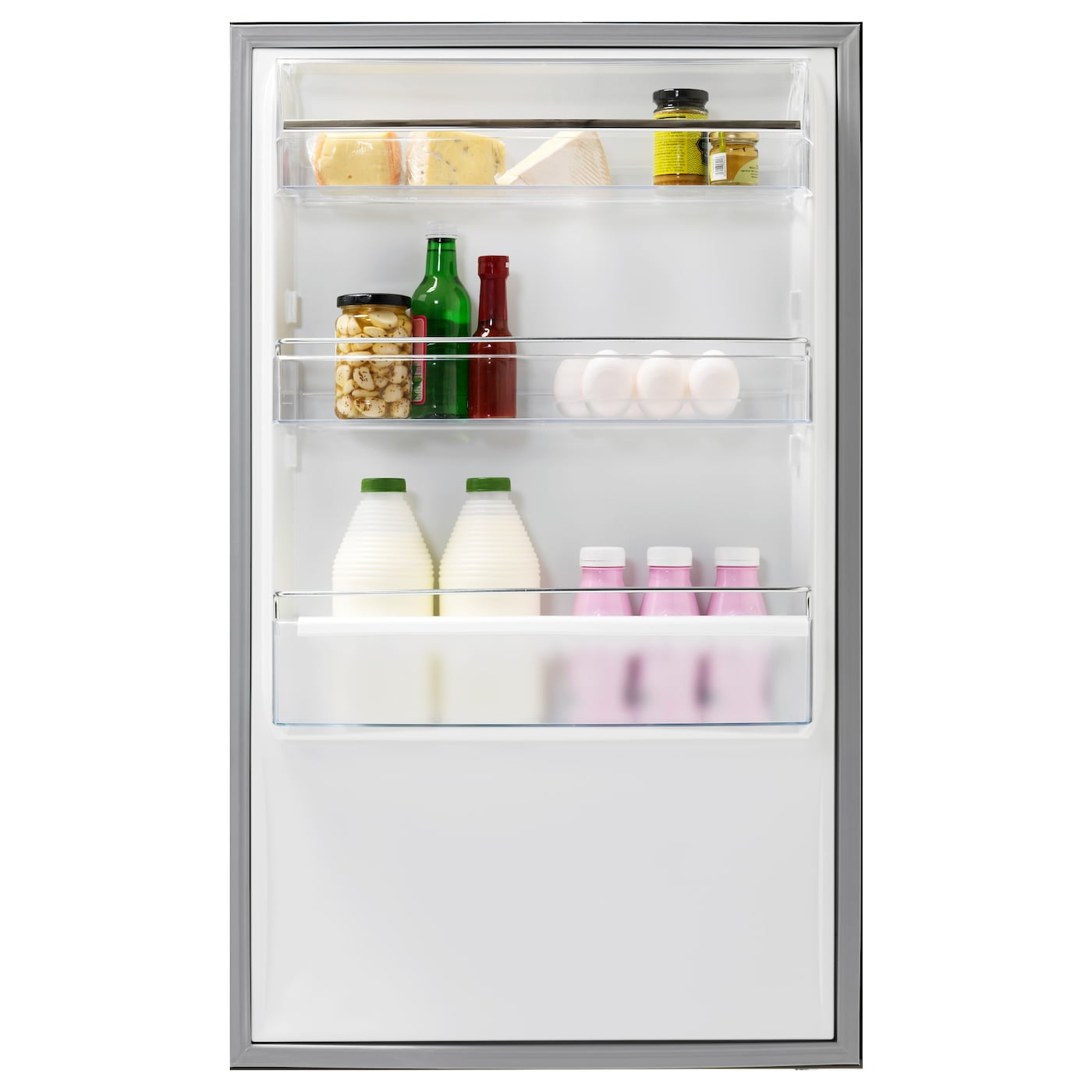 IKEA KYLSLAGEN fridge/freezer 5 year guarantee. Read about the terms in the guarantee brochure.