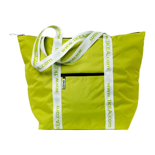 KYLVÄSKA Cool bag IKEA Handy cooling bag with carrying straps for a day at the beach, for the picnic, or for bringing your food products home today!.