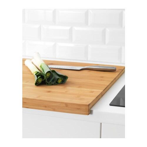 L mplig chopping board bamboo 46x53 cm ikea - Encimeras de madera ikea ...