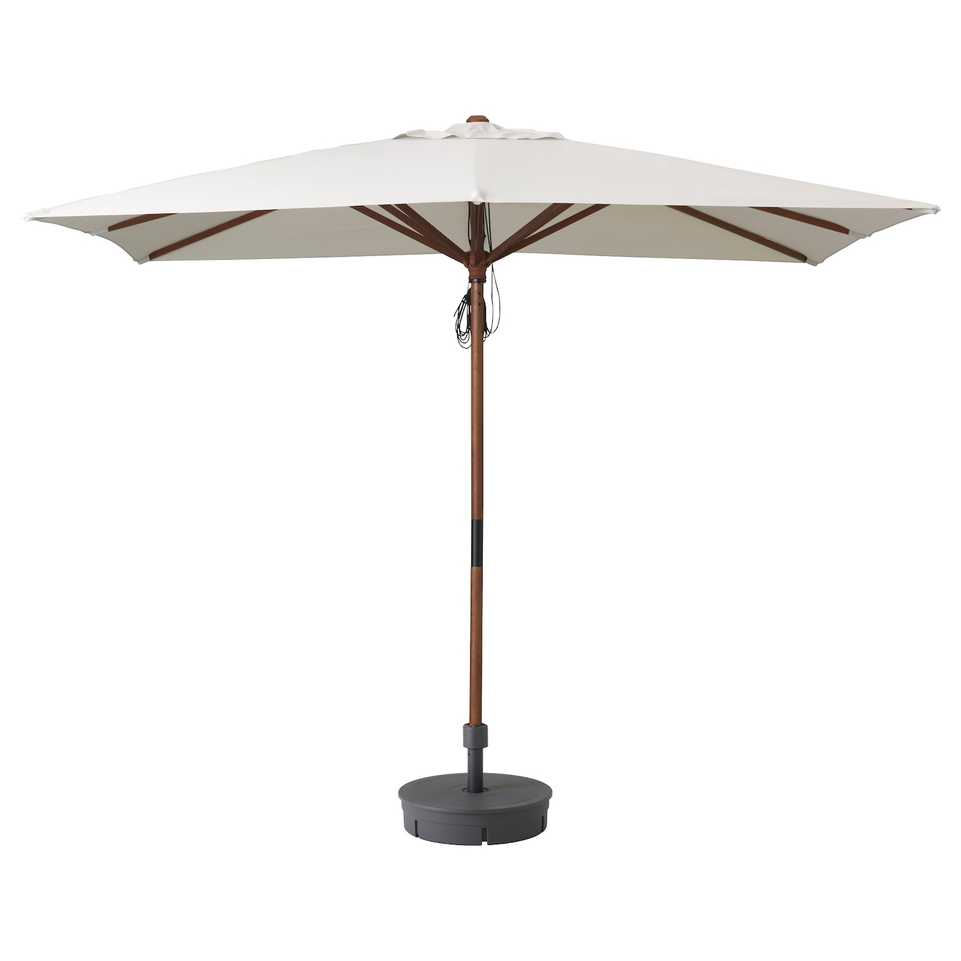 Ikea LÅngholmen Parasol With Base The Air Vent Reduces Wind Pressure And Allows Heat To Circulate