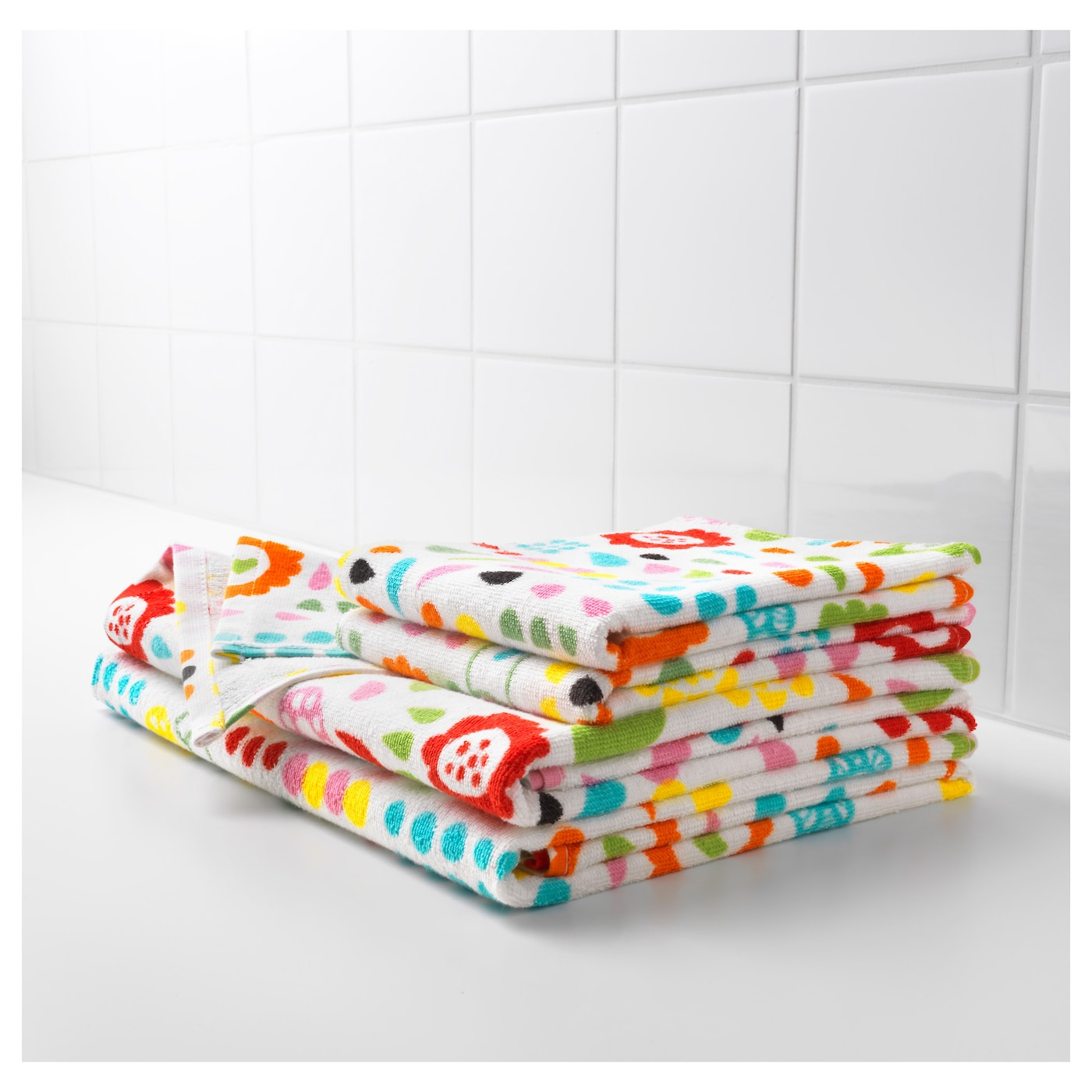 IKEA LÖNNERN bath towel A terry towel that is soft and absorbent (weight 390 g/m²).