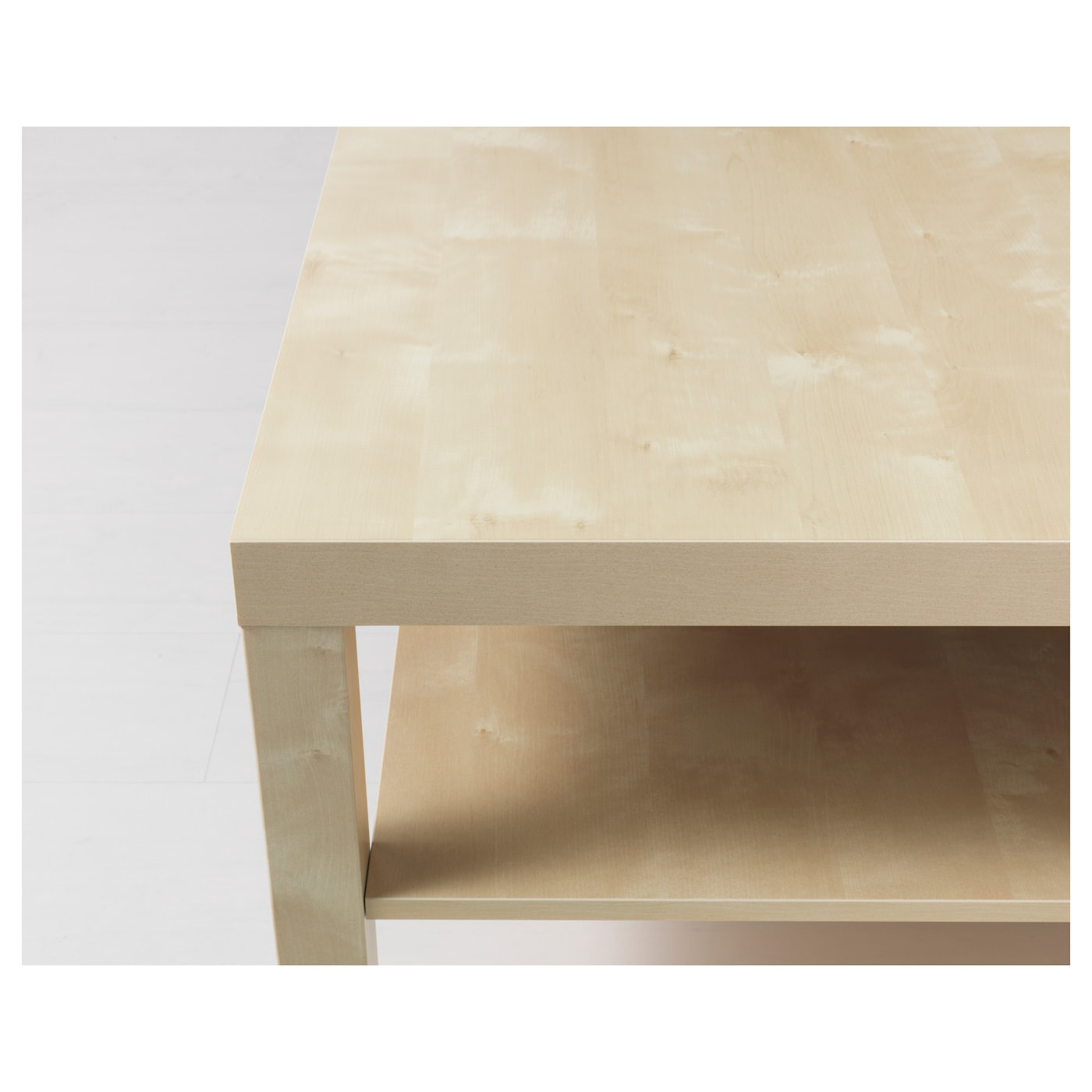 Lack coffee table birch effect 118x78 cm ikea for Table basse hauteur 55 cm