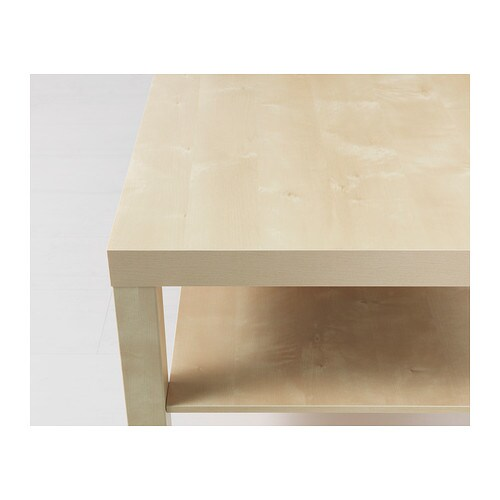 LACK Coffee table Birch effect 90×55 cm  IKEA