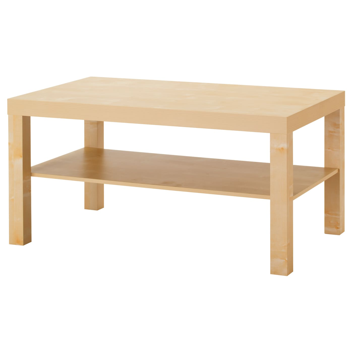 Lack coffee table birch effect 90 x 55 cm ikea for Base de table ikea