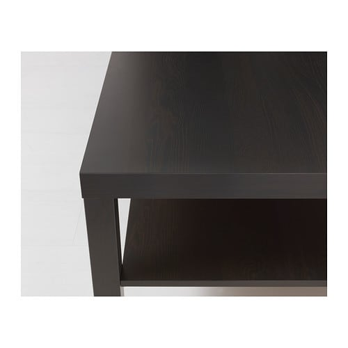 Lack coffee table black brown 118x78 cm ikea - Table basse noir ikea ...