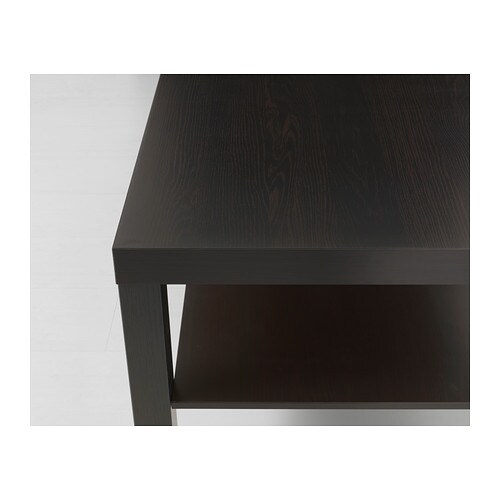 Lack coffee table black brown 90x55 cm ikea - Ikea tables de salon ...
