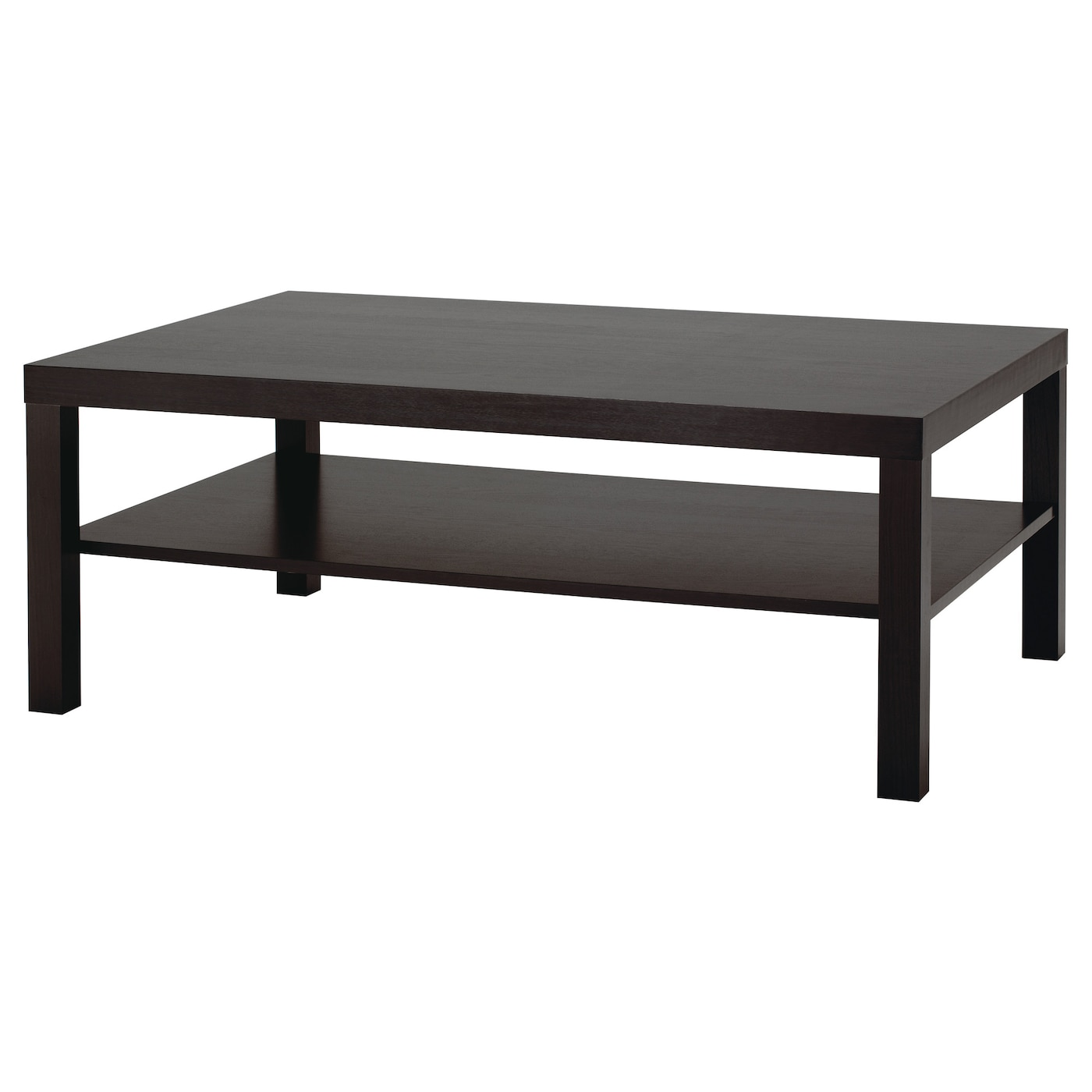 Lack Black Brown Coffee Table 118x78