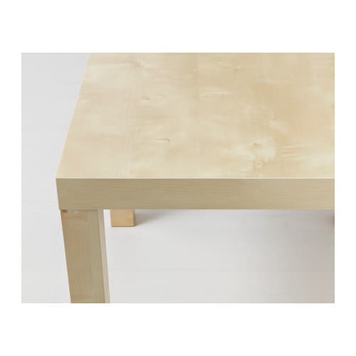 Lack side table birch effect 55x55 cm ikea - Ikea table basse lack ...