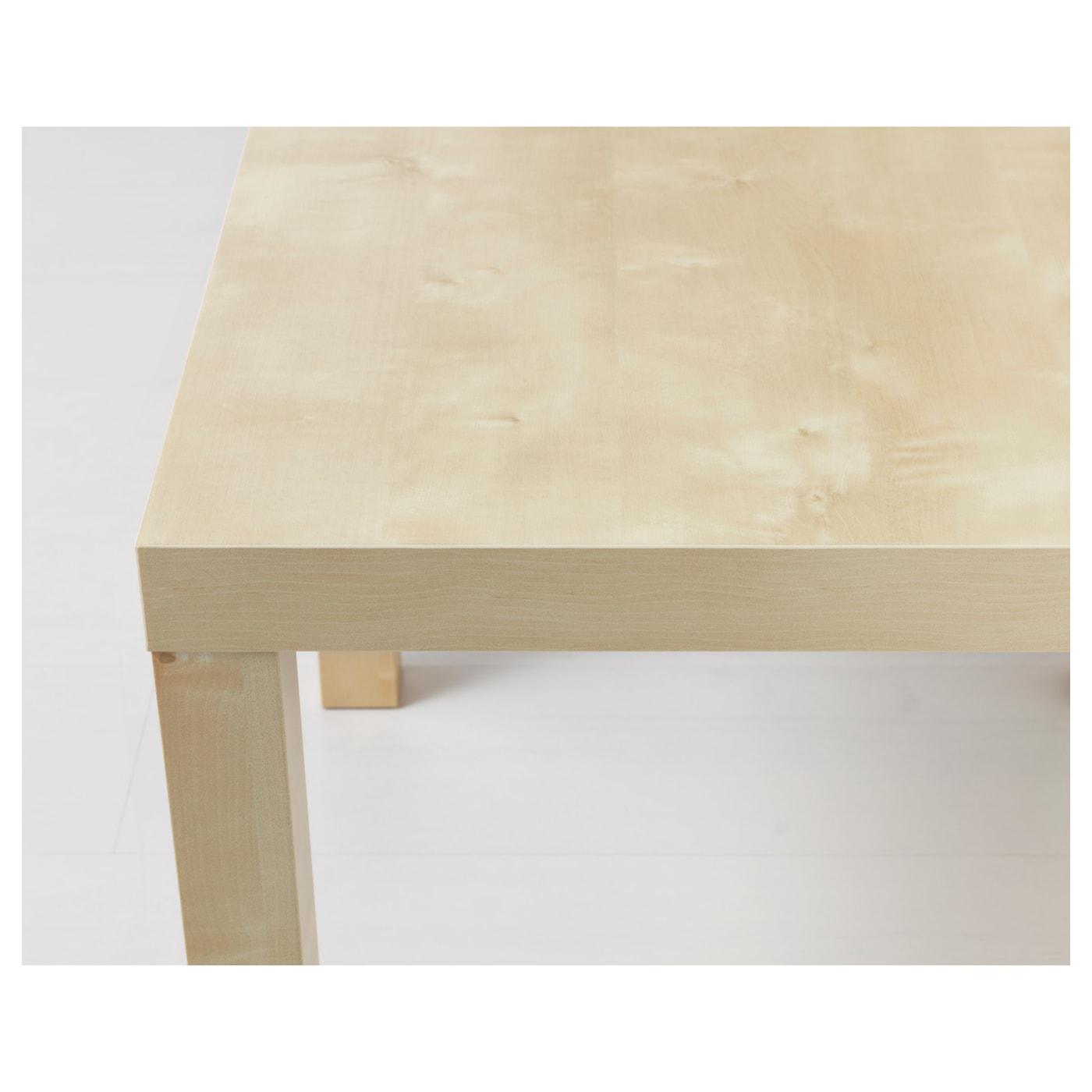 lack side table birch effect 55 x 55 cm ikea. Black Bedroom Furniture Sets. Home Design Ideas