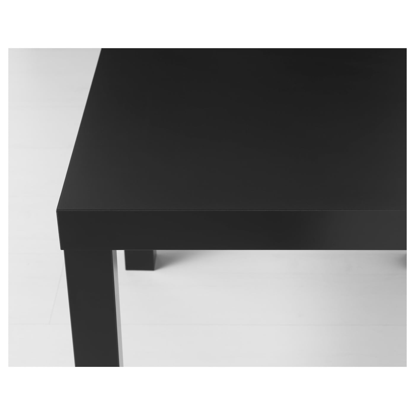 Lack side table black 55x55 cm ikea for Table lack ikea