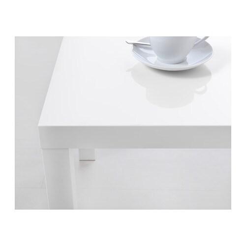 White High Gloss Coffee Table 85 Cm: LACK Side Table High-gloss White 55x55 Cm
