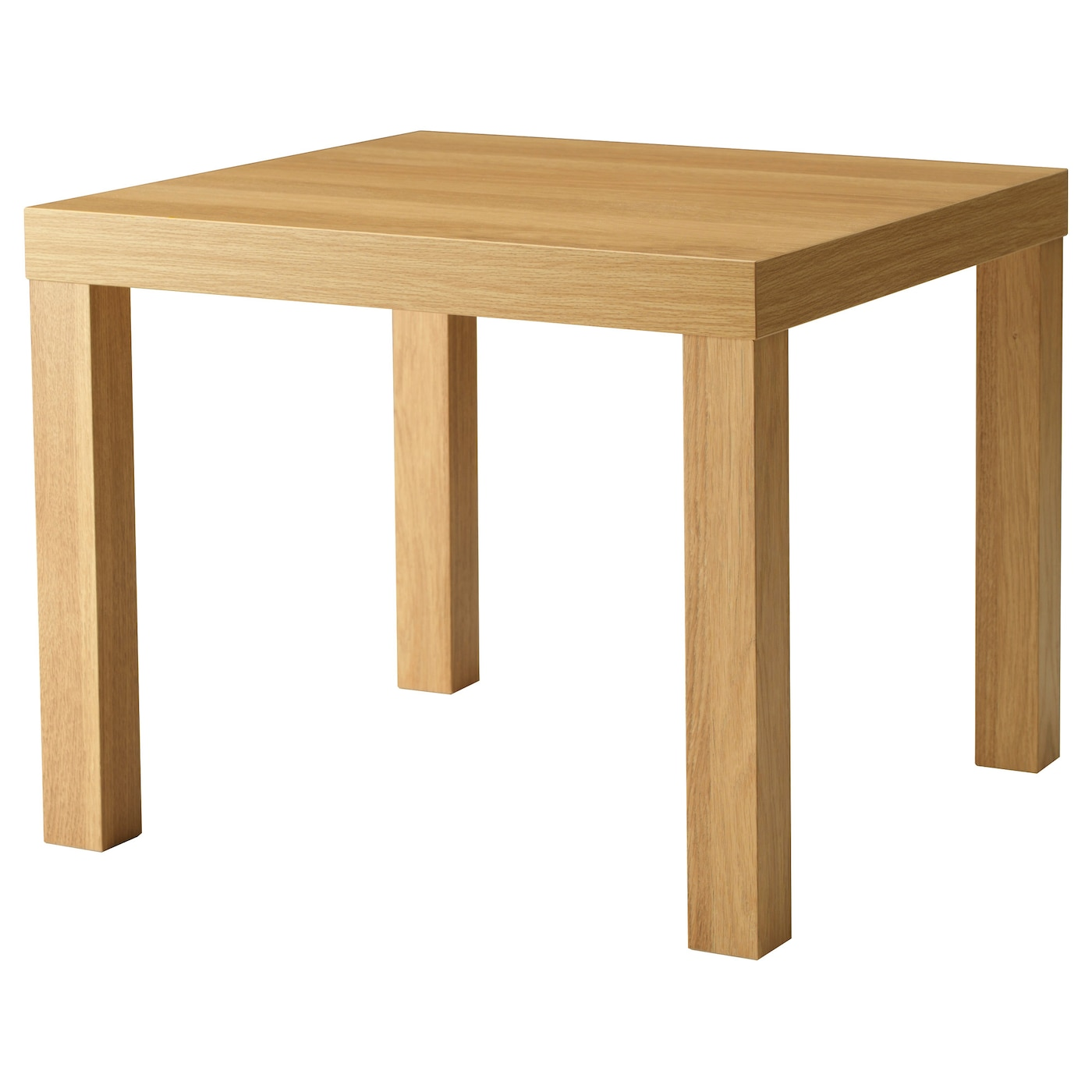 lack side table oak effect 55 x 55 cm ikea. Black Bedroom Furniture Sets. Home Design Ideas