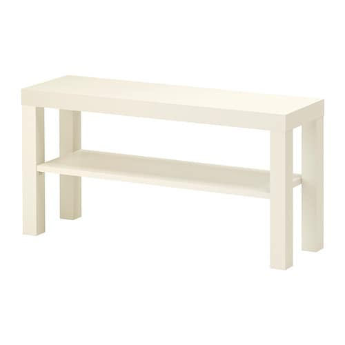 Lack tv bench white 90x26 cm ikea - Ikea table basse lack ...