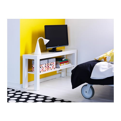Meuble Tv Lack Ikea : Details About Ikea Lack Tv Bench White – Plasma Lcd Led Tv Stand Same