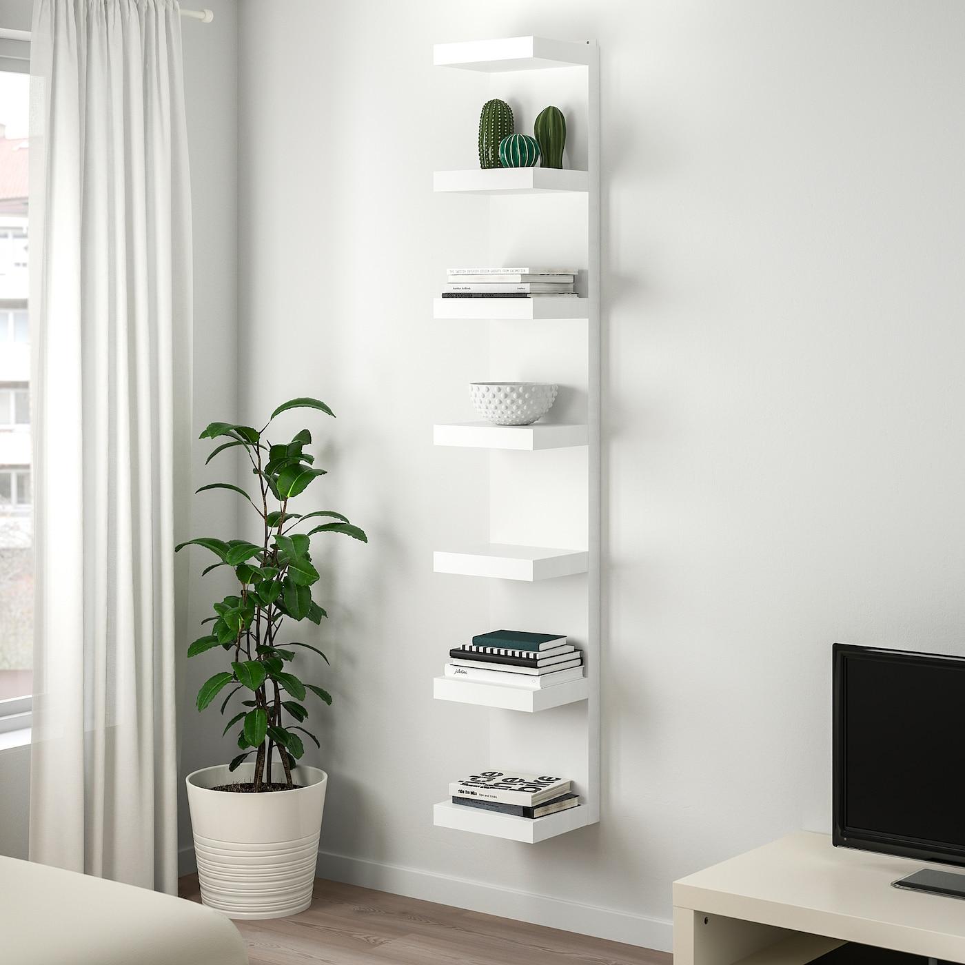 Lack White Wall Shelf Unit Ikea