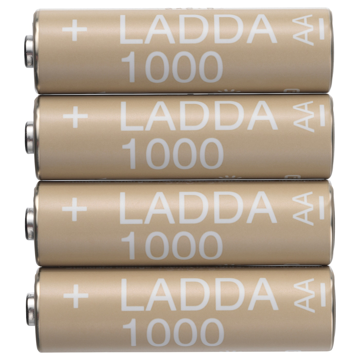 IKEA LADDA rechargeable battery The battery is ready to use.