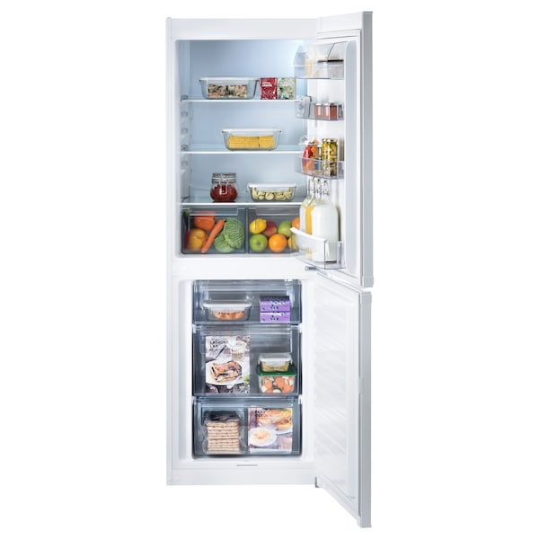 LAGAN Fridge/freezer A+, white, 194/109 l