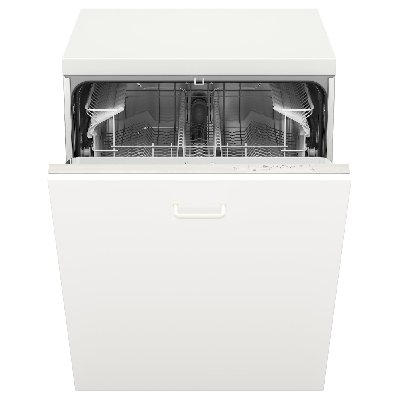 IKEA LAGAN integrated dishwasher 3 dish programs; choose program according to type of dish and need.