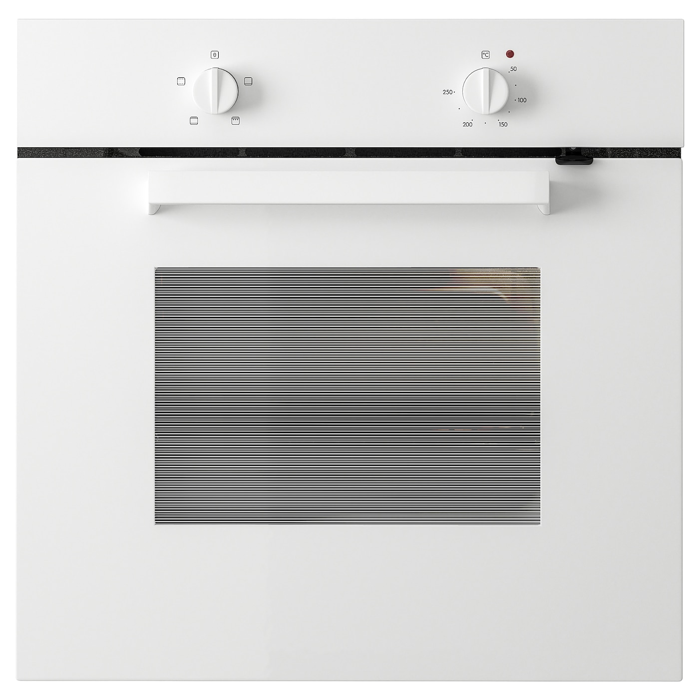 IKEA LAGAN oven Oven door with child-safety lock improves safety in the kitchen.