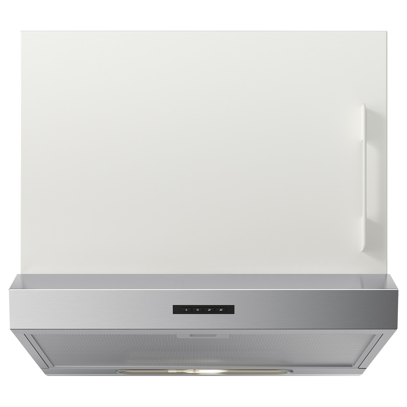 IKEA LAGAN wall mounted extractor hood The included LED bulb provides energy saving.