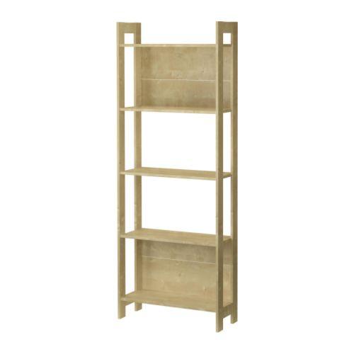 IKEA LAIVA bookcase - LAIVA Bookcase Birch Effect 62x165 Cm - IKEA
