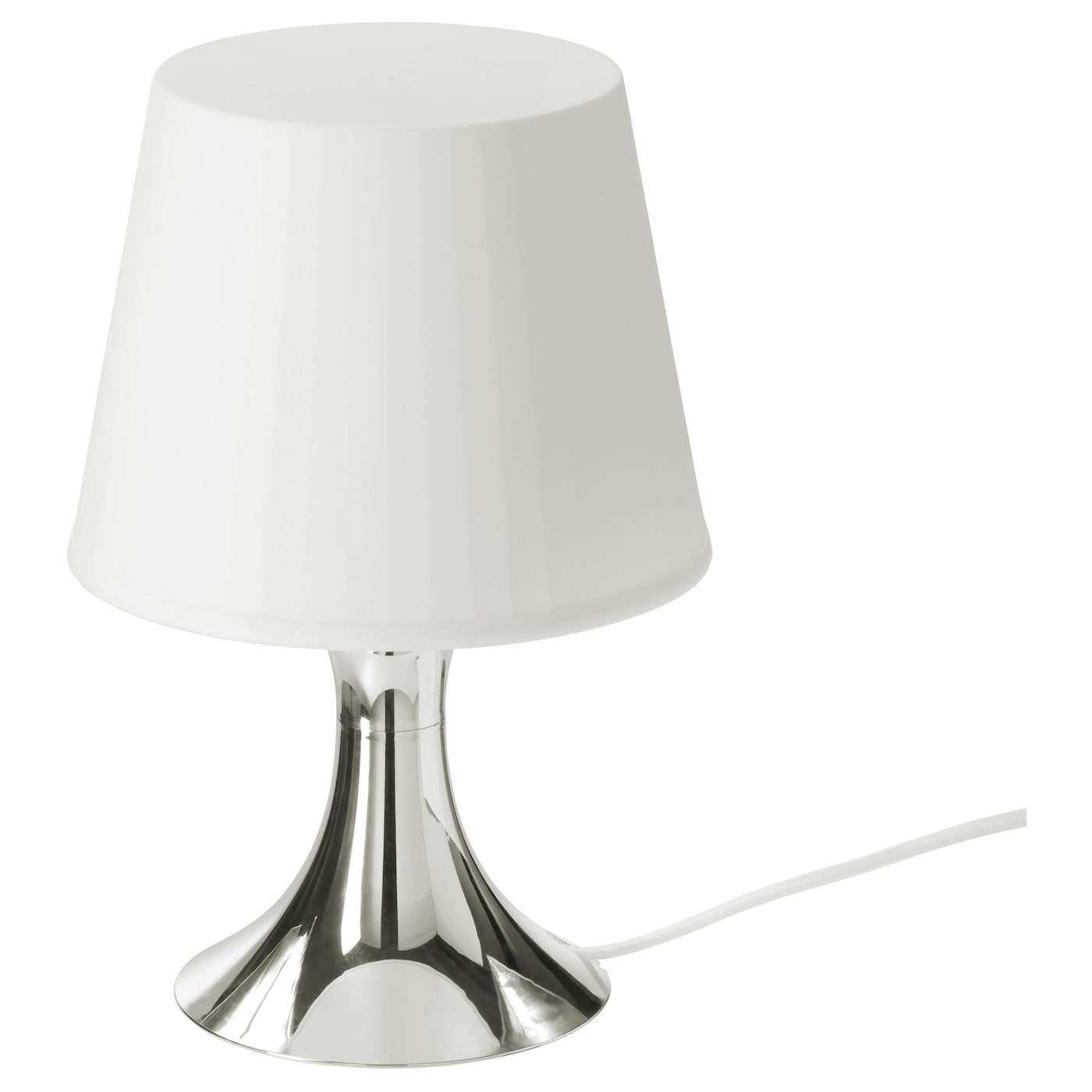 Table lamps bedside lamps ikea for Table ikea blanche