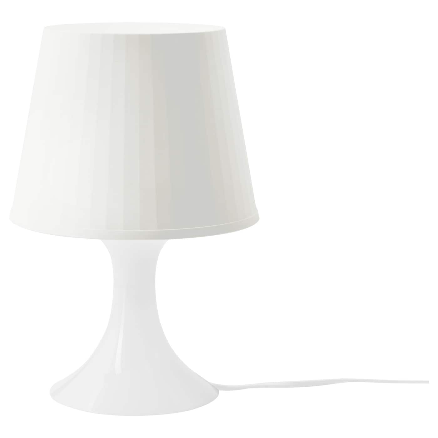 lampan table lamp white ikea. Black Bedroom Furniture Sets. Home Design Ideas