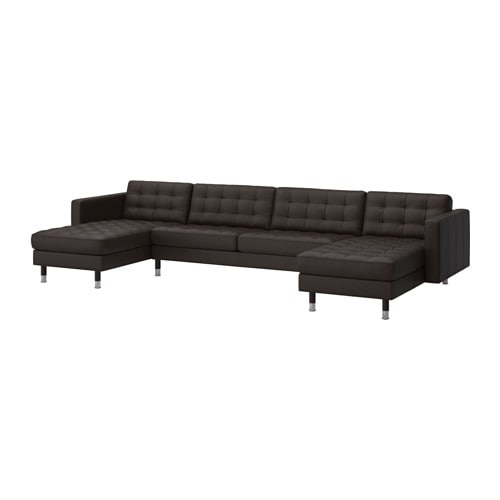 IKEA LANDSKRONA 2 chaise longues + three-seat sofa