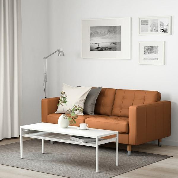 Grann Bomstad Golden Brown 2 Seat Sofa