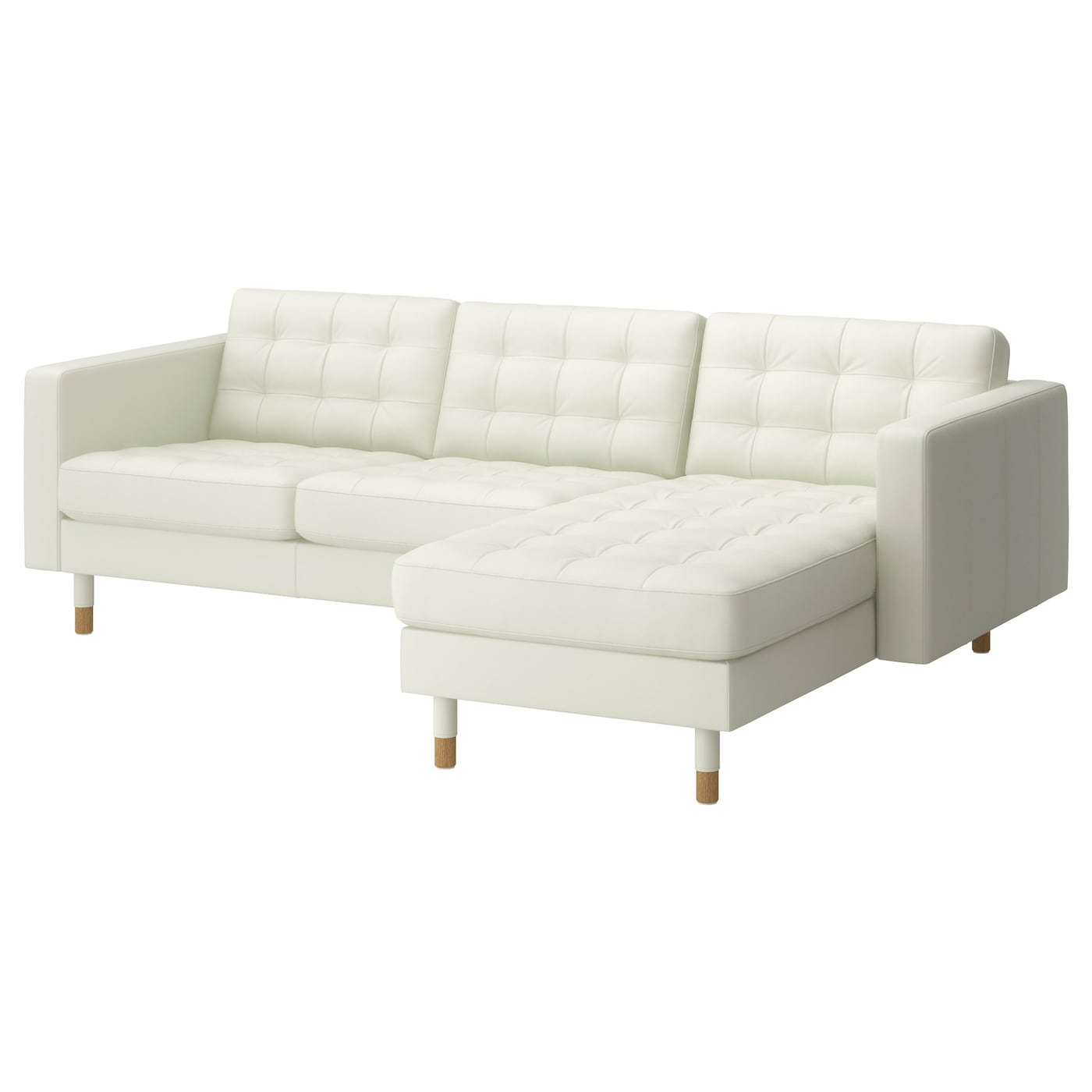 Landskrona two seat sofa and chaise longue grann bomstad for Chaise longue jardin ikea