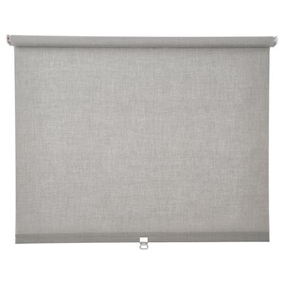 LÅNGDANS Roller blind, grey, 80x195 cm