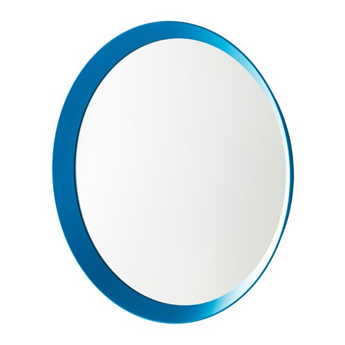 IKEA LANGESUND mirror Provided with safety film - reduces damage if glass is broken.