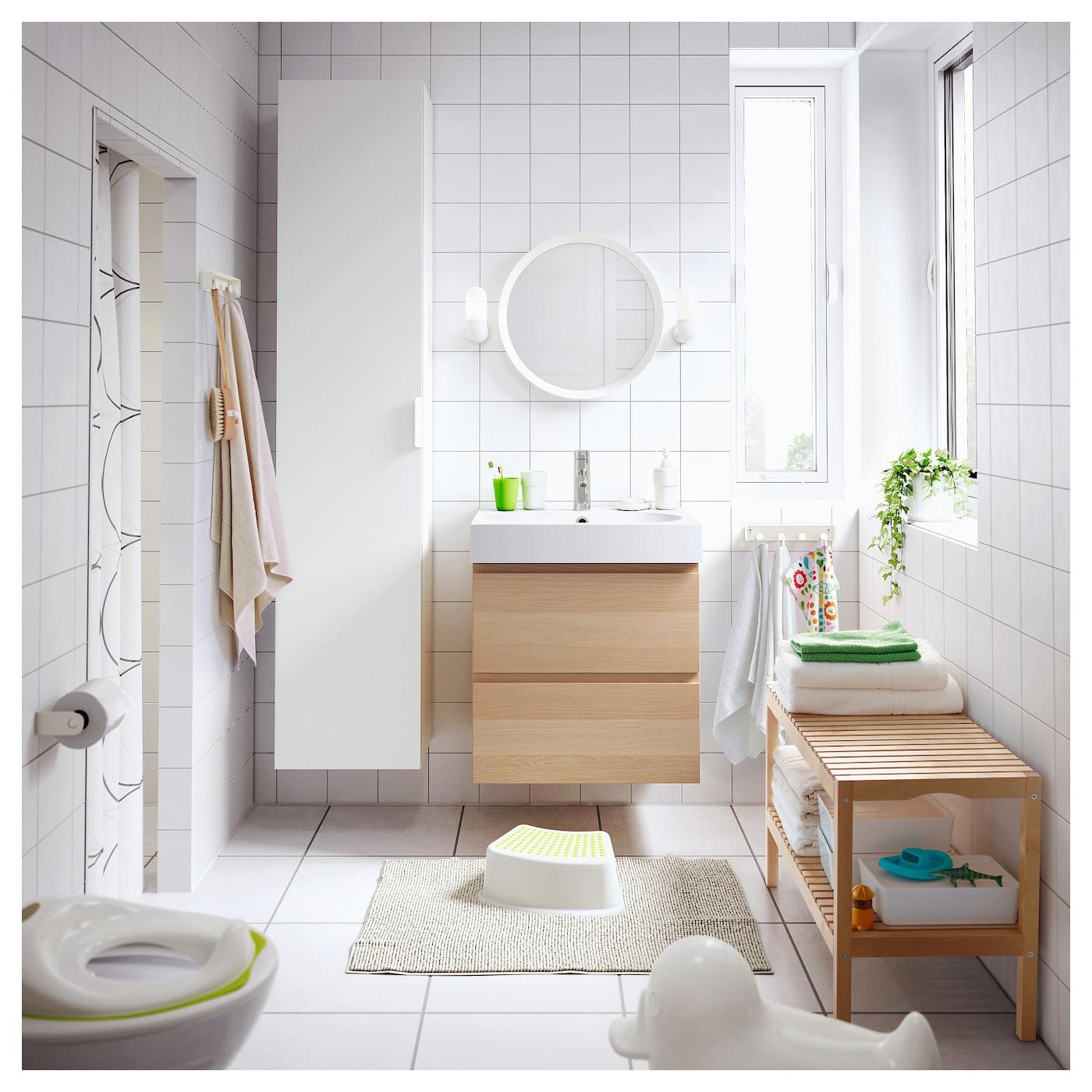 LANGESUND Mirror White 50 cm - IKEA
