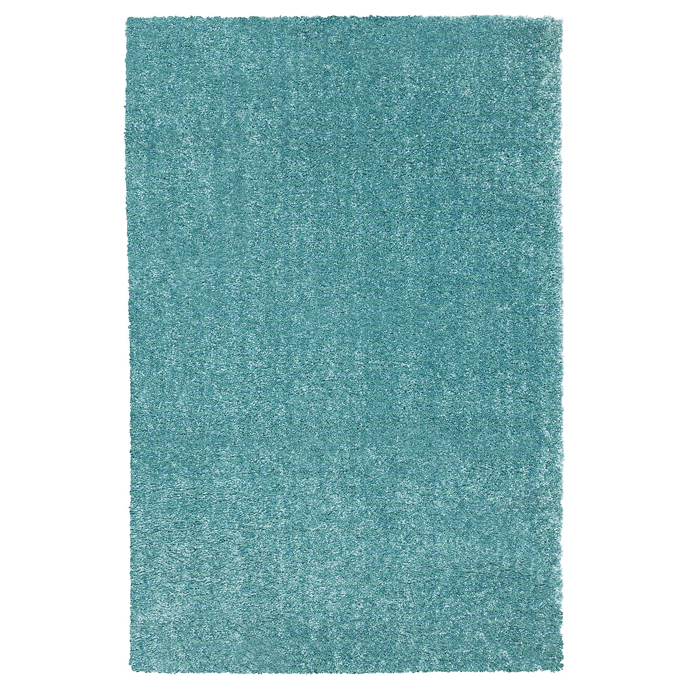 Langsted Turquoise Rug Low Pile 133x195 Cm Ikea