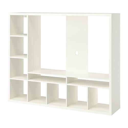 Lappland Tv Storage Unit White 183 X 39 X 147 Cm Ikea
