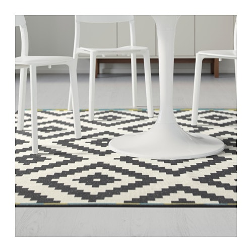 IKEA LAPPLJUNG RUTA rug, low pile Easy to vacuum thanks to its flat surface.