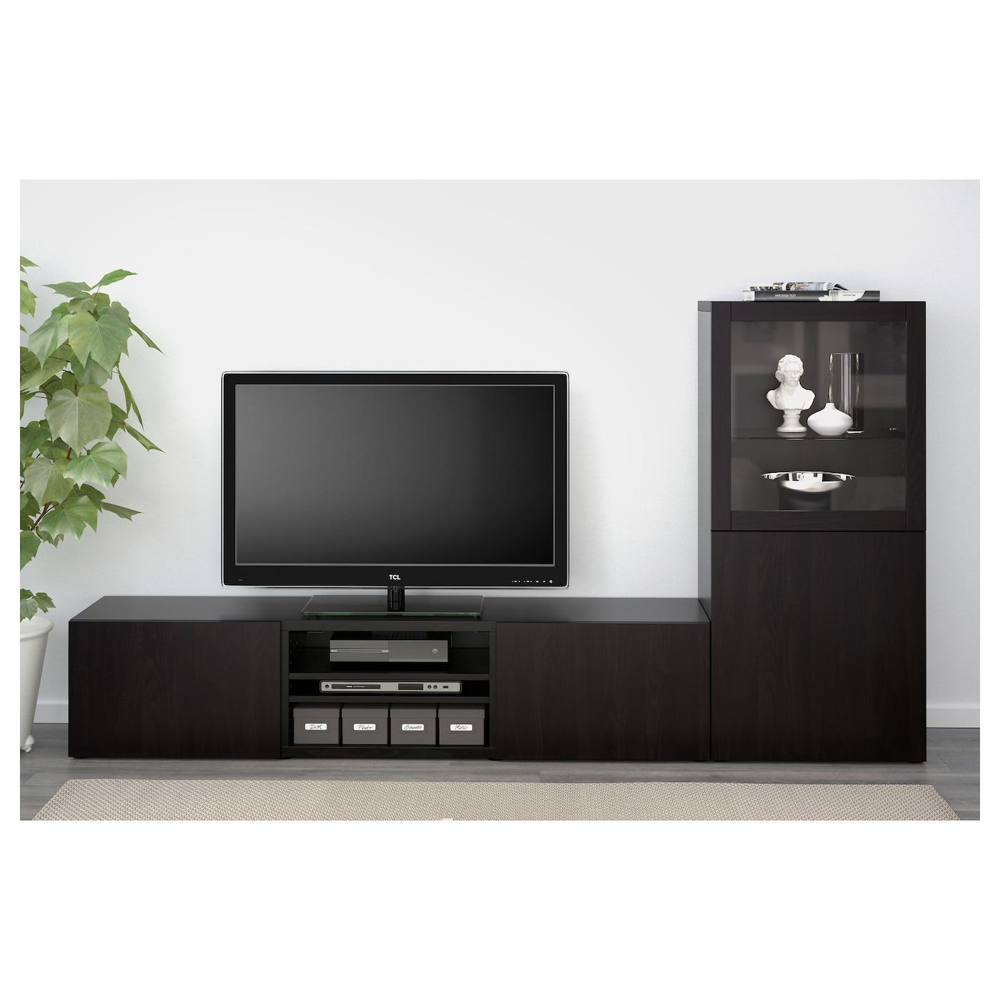 lappviken door drawer front black brown 60 x 38 cm ikea. Black Bedroom Furniture Sets. Home Design Ideas