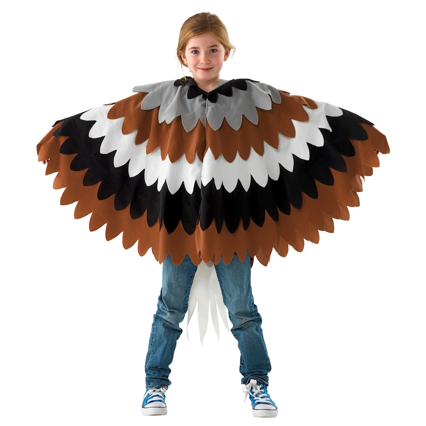 IKEA LATTJO eagle cape One size fits all, both children and adults.