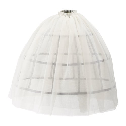 IKEA LATTJO queen crinoline and skirt One size fits all, both children and adults.