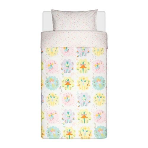 IKEA LATTJO quilt cover and pillowcase Cotton, soft and nice against your child's skin.